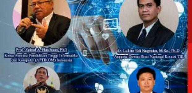 Seminar Digital Nasional Efek Pandemi COVID 19 Apa Peran dan Posisi Teknologi Informasi Komunikasi (TIK) ke Depan?